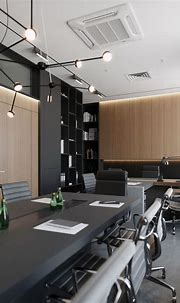 Office on Behance in 2020 | Modern office design, Interior ...