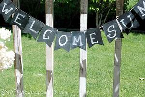 Welcome Home Banner Diy