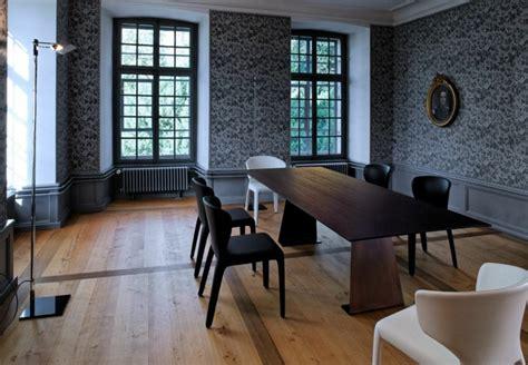chaise style baroque salle à manger moderne et sombre 50 idées élégantes