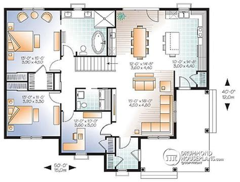 3 bedroom small house plans w3108 v3 country style 2 to 3 bedroom bungalow with home 17992 | f9feac220a6cdc80b175921c424806d4 country house plans country houses