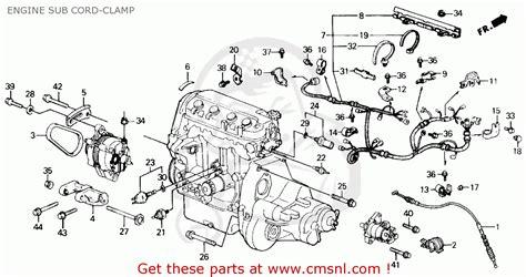 Honda Civic Engine Diagram For Auto Wiring