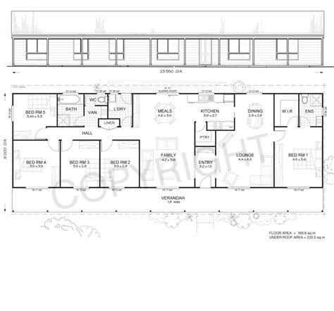 5 Bedroom House Plans Australia by Daintree 5 Met Kit Homes 5 Bedroom Steel Frame Kit