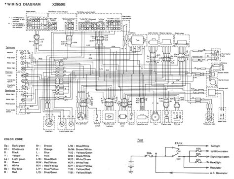 xs650 80 xs650g and sg wiring diagrams thexscafe