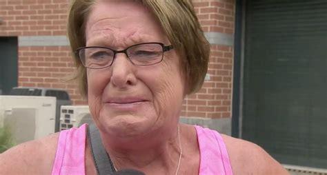 north dakota woman   emotional  carson wentz