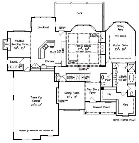 frank betz open floor plans canton home plans and house plans by frank betz