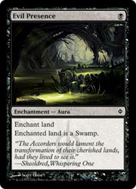 new phyrexia green event deck evil presence new phyrexia gatherer magic the gathering