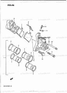 Suzuki Motorcycle 1992 Oem Parts Diagram For Front