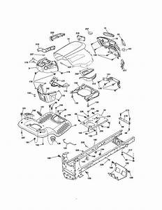 Craftsman Model 917255728 Lawn  Tractor Genuine Parts
