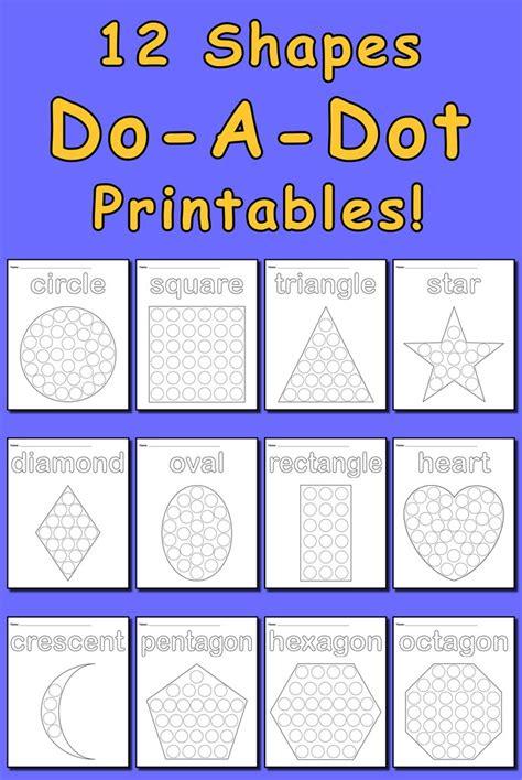 dot printables bundle    dot worksheets