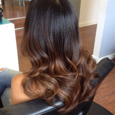 Brown And Ombre Hair by Soft Brown Ombre Hair Colour Emannyb Hair Salon