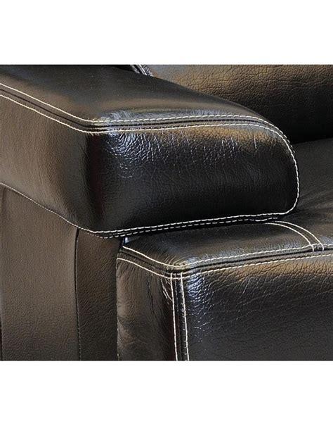 canapé deux places cuir canape torino cuir buffle deux et trois places deco meubles