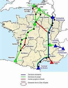 Carte De France Autoroute : la france renforce son r seau d autoroutes ferroviaires ~ Medecine-chirurgie-esthetiques.com Avis de Voitures