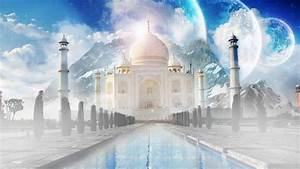 Taj Mahal Fantasy Art HD Wallpaper Wallpaper Studio 10