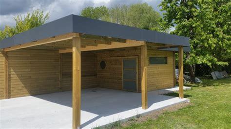 Carport Bois Et Abri Jardin Bois Secteur Villeneuve D'ascq