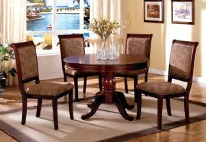 cherry dining room set st nicholas ii antique cherry pedestal dining room set from furniture of america