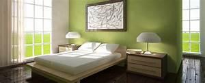 Schlafzimmer In Grün Gestalten : schlafzimmer ideen wandgestaltung gr n ~ Michelbontemps.com Haus und Dekorationen