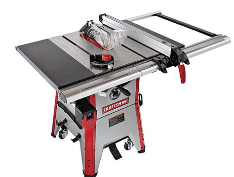 craftsman   contractor table  review table