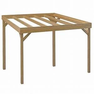 Pergola bois 3x3 for Abri de jardin bois pas cher leroy merlin 16 pergola brico depot