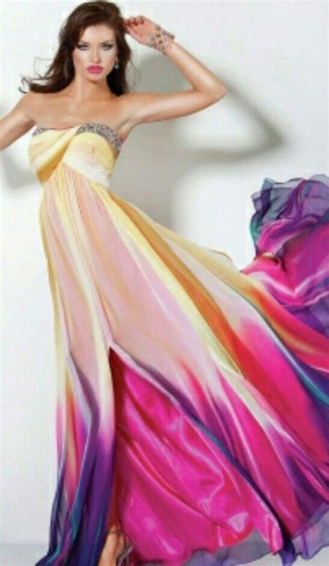 multi colored prom dresses multi colored prom dress prom prom dress