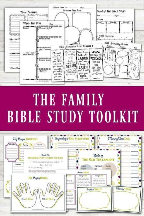 family bible study toolkit bible study resource bundle