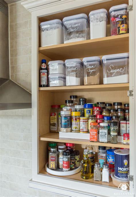 easy organized baking  spice cabinet kelley