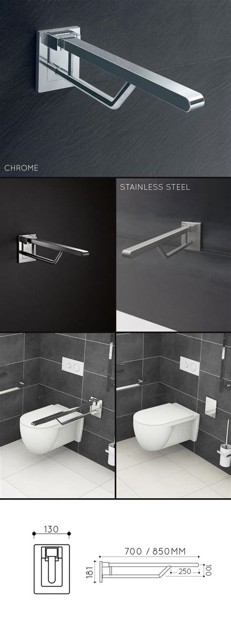 folding toilet grab bar removable disabled support rails
