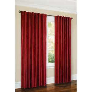 canopy faux silk thermal interlined curtain panel 54x84