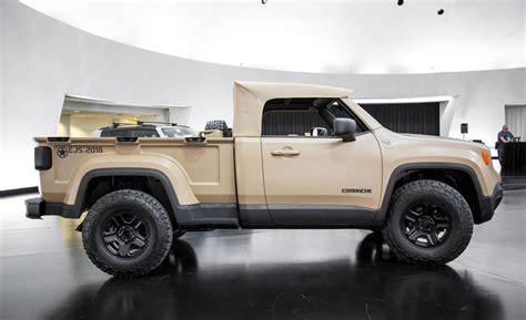 Jeep Comanche, Il Renegade Diventa Pick-up