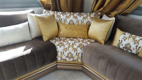canape design tissu album salon marocain