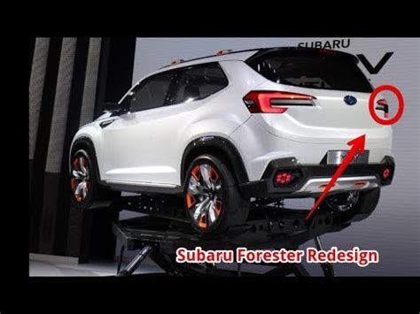 Watch Now ! 2019 Subaru Forester Redesign Youtube