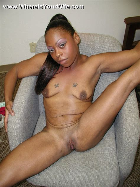 Lovely Black Housewife Spreading Wide On Th Xxx Dessert Picture 10