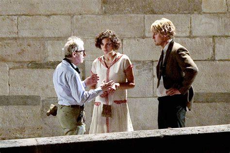 Marion Cotillard In Woody Allen, Owen Wilson And Marion