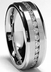 titanium mens wedding rings wedding promise diamond With titanium mens wedding ring