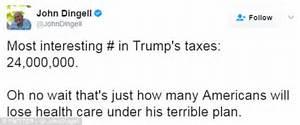 Trump fires back at 'fake news' MSNBC tax return broadcast ...