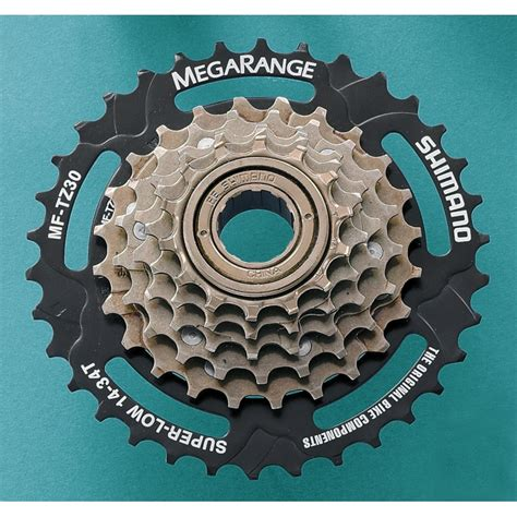 shimano mf tz30 6 speed on freewheel 14 34t megarange