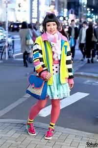 Colorful, Harajuku, Street, Style, W, Galaxxxy, Japan, 6