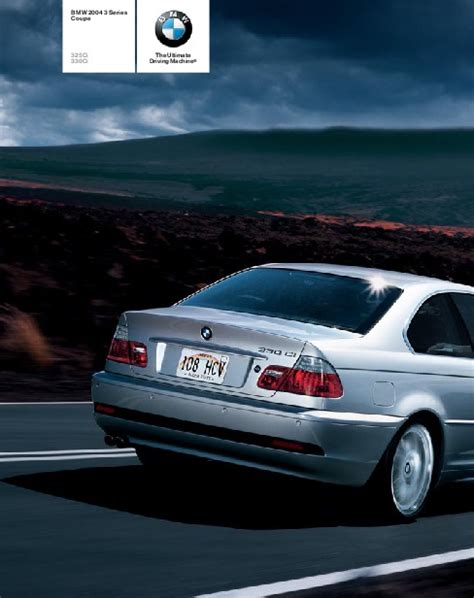bmw  series coupe brochure