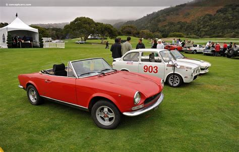 72 Fiat Spider by 1972 Fiat 124 Pictures History Value Research News