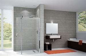 Paroi Vitrée Douche : paroi de douche vitre simple paroi verre douche italienne ~ Zukunftsfamilie.com Idées de Décoration