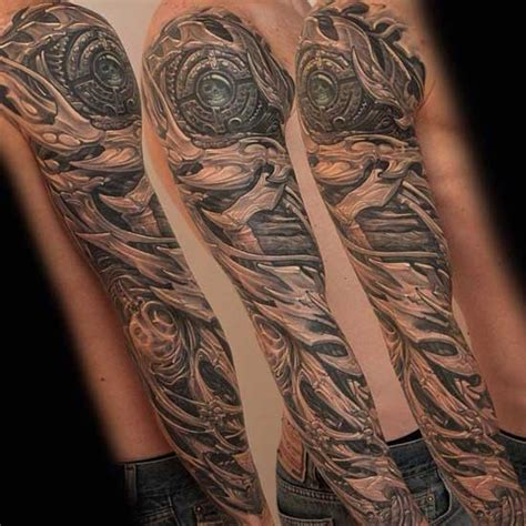 Biomechanik Tattoo Unterarm Vorlagen Tattooart Hd