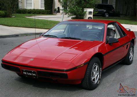 Pontiac Fiero Se pontiac fiero se 2m4 coupe two owner 25k mi