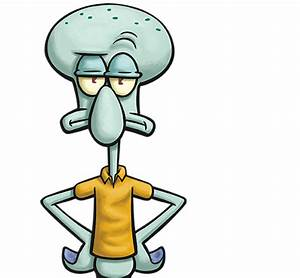 Squidward from SpongeBob SquarePants| Cartoon | Nick-Asia.com
