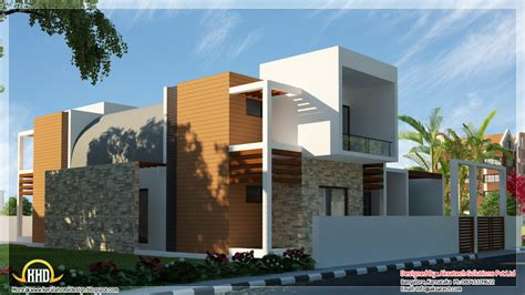 contemporary home designs and floor plans beautiful contemporary home designs kerala home design