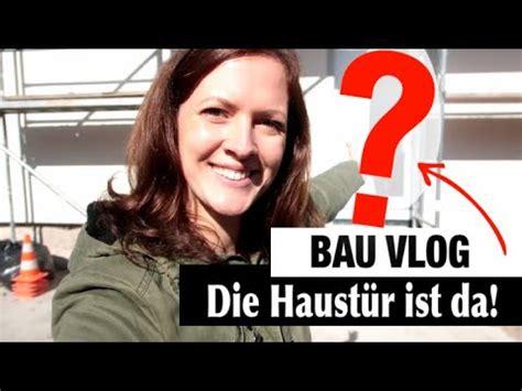 #hausbau Vlog  Die #haustÜr Wird Eingebaut !  Wir Bauen