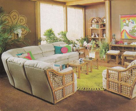Home Interior 80s :  Vintage 80's Home Decorating Trends