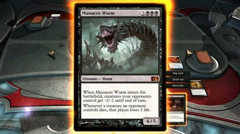 magic dotp 2012 a wild massacre wurm appears youtube