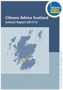 Citizens Advice Scotland Annual Report 2011/12 | Citizens ...