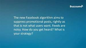 10 Ways To Manage Facebook Algorithm Changes - BuzzSumo ...