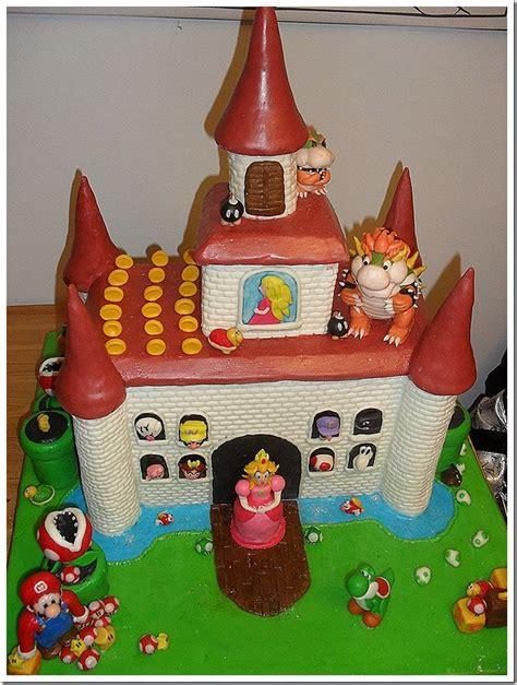 Amazing Super Mario Bros Gingerbread Castle On Global Geek