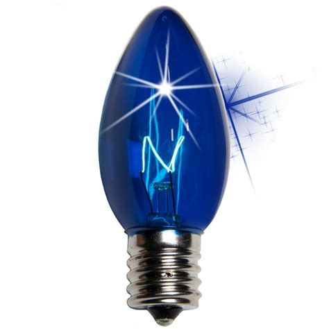 christmas light bulb  twinkle blue christmas light